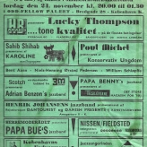 Jazzfestivalen i Odd Fellow Palæet 1962