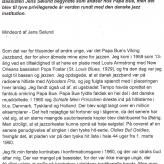 Mindeord, Arne Bue 1
