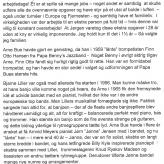 Mindeord, Arne Bue 4