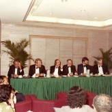 Pressemøde i Singapore