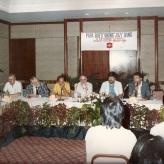 Pressemøde i Malaysia