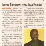 James Sampson med Hugos All Stars