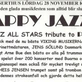 Scandinavian All Stars aflyser koncert