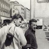 Jørn Thomsen og Kim Menzer i DDR.