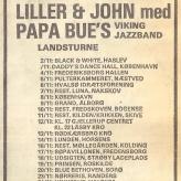 Turnéplan for Bue og John Mogensen