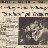 Show med Östen Warnebring i Sverige