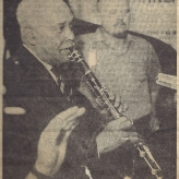 Albert Nicholas og Finn Otto Hansen