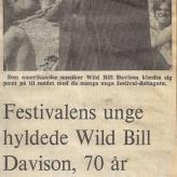 Wild Bill på Roskilde Festival