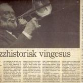 Jubilæumskoncerten oplevet af Kjeld Frandsen