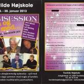 Jamsession for musikere i Tisvilde, ultimo januar 2013
