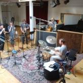 Fessors Jazz Kings i studiet