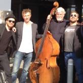 Fessor And His Jazz Kings foran Portalen i Greve, maj 2013