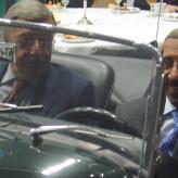 Brødrene Campbell fejres i Bilhuset Peugeot