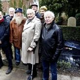 Afsløring af Pettifords renoverede gravsted