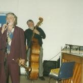 Jesper Thilo på trompet...