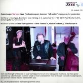 Præsentation af programmet for Harbour Jazz 2012