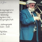 Arne Bue fylder 70